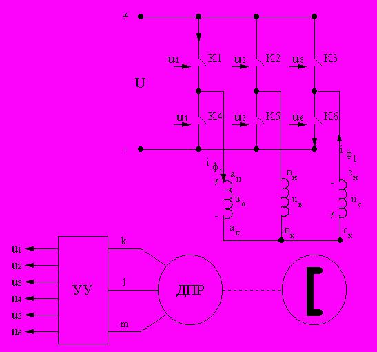 Вентильный двигатель