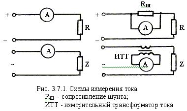 Измерение постоянных токов и напряжений реферат 8170
