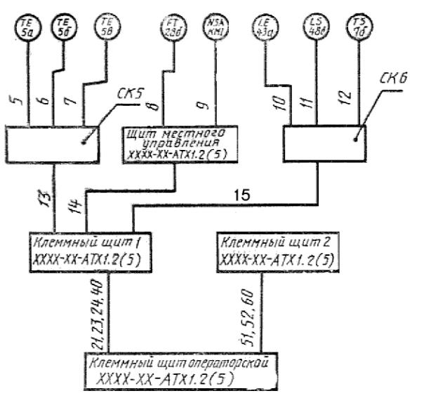 Выполнение схемы подключения