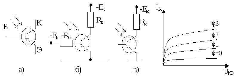 сделать так, фототранзистор с подключением к источнику обстановку строго выдерживают