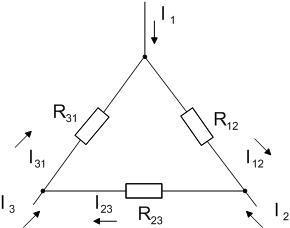 Решение задачи на эквивалентное преобразование треугольник звезда решение задач на массовую долю элемента