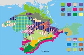 Районы крыма попавшие в засуху