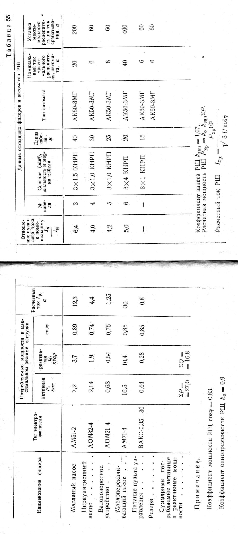 схема малого аварийного освещения на судах