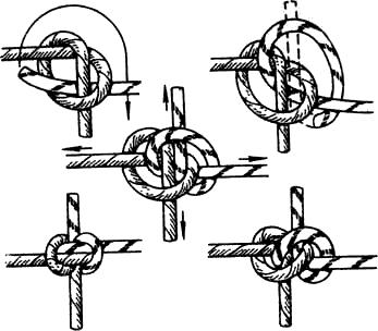Как сделать веревочную сетку для лазания своими руками 68