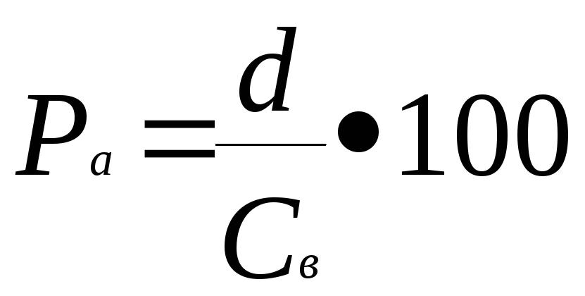 Основные показатели и расчетные формулы для решения задач Рыночная стоимость ценных бумаг под влиянием спроса и предложения на них колеблется вокруг средней курсовой цены акции которая определяется по формуле
