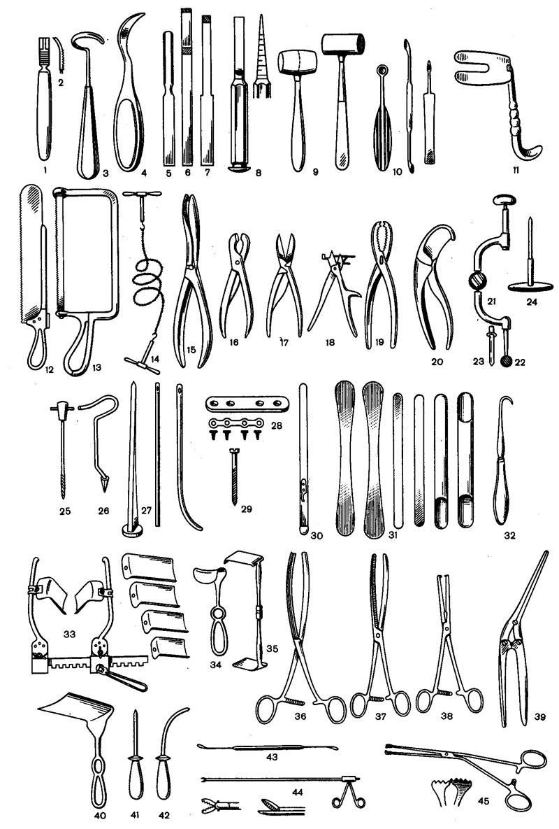 Картинки хирургических инструментов