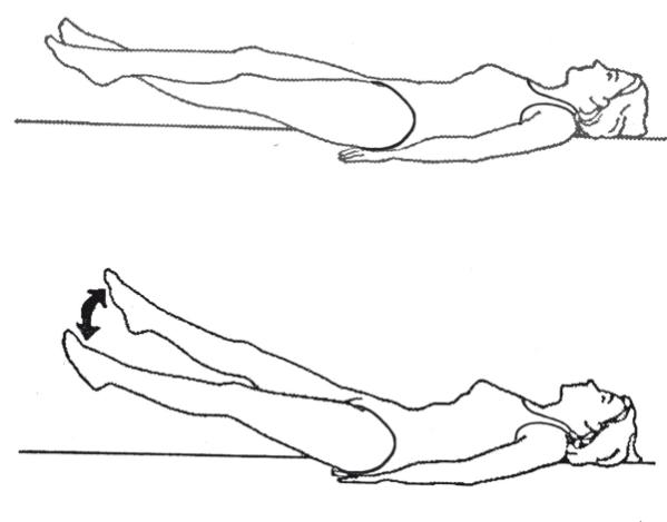 Картинка упражнение ножницы