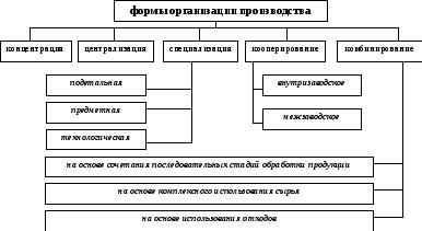 Реферат на тему формы организации производства 1456