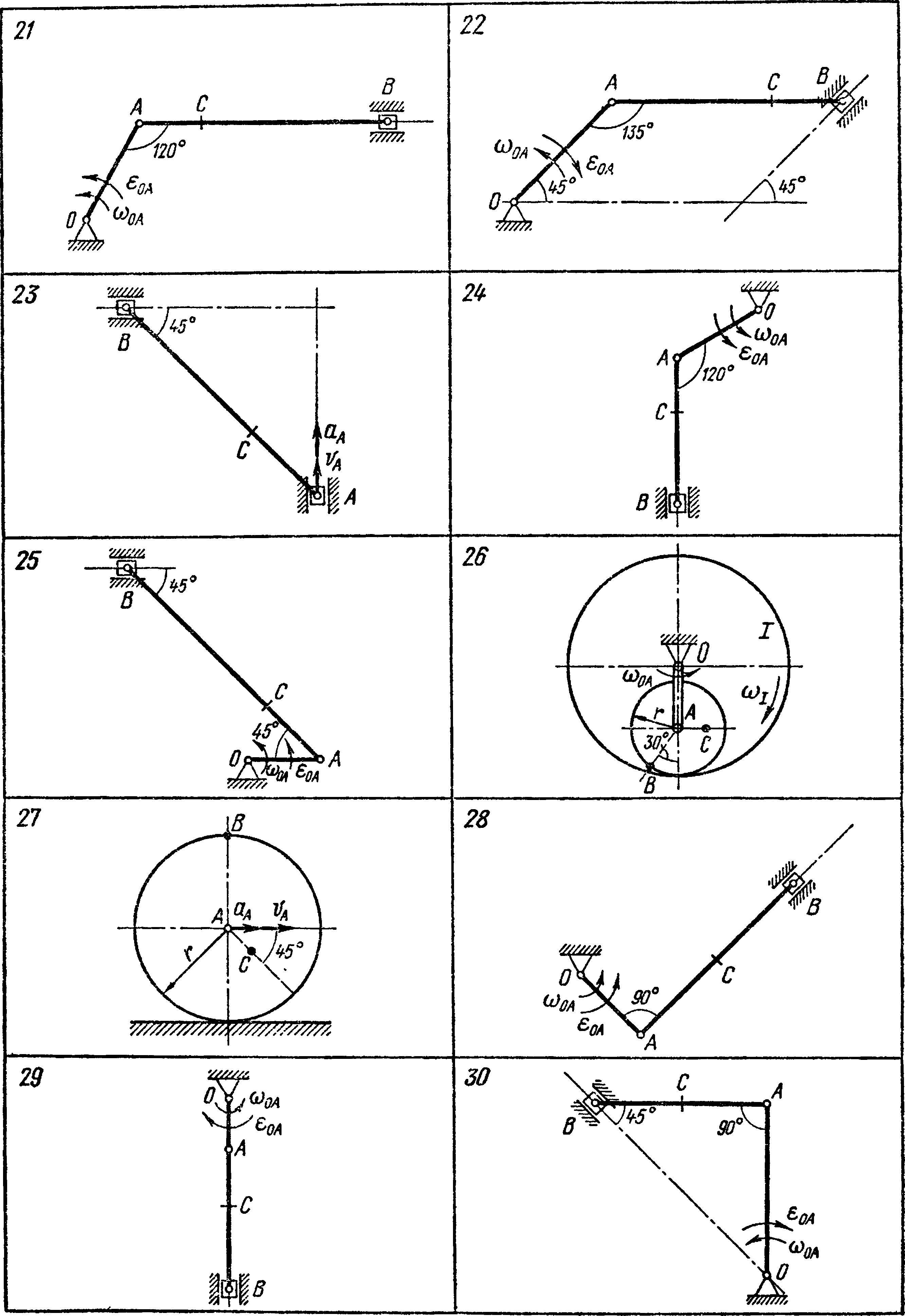 Кинематика плоского механизма примеры решения задачи решение задач на закон ома презентация