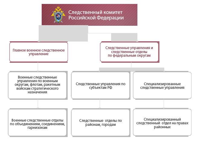 Структура следственного комитета рф реферат 7663
