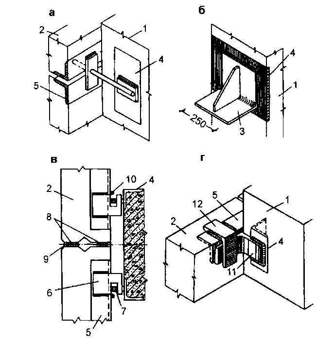 Металлические опорные столики консоли привариваемые к закладным деталям колонн