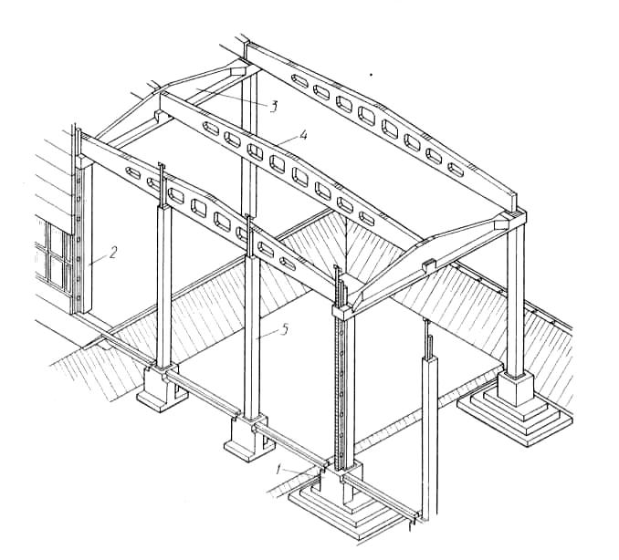 Каркас железобетонного здания расчет многопустотной плиты перекрытия