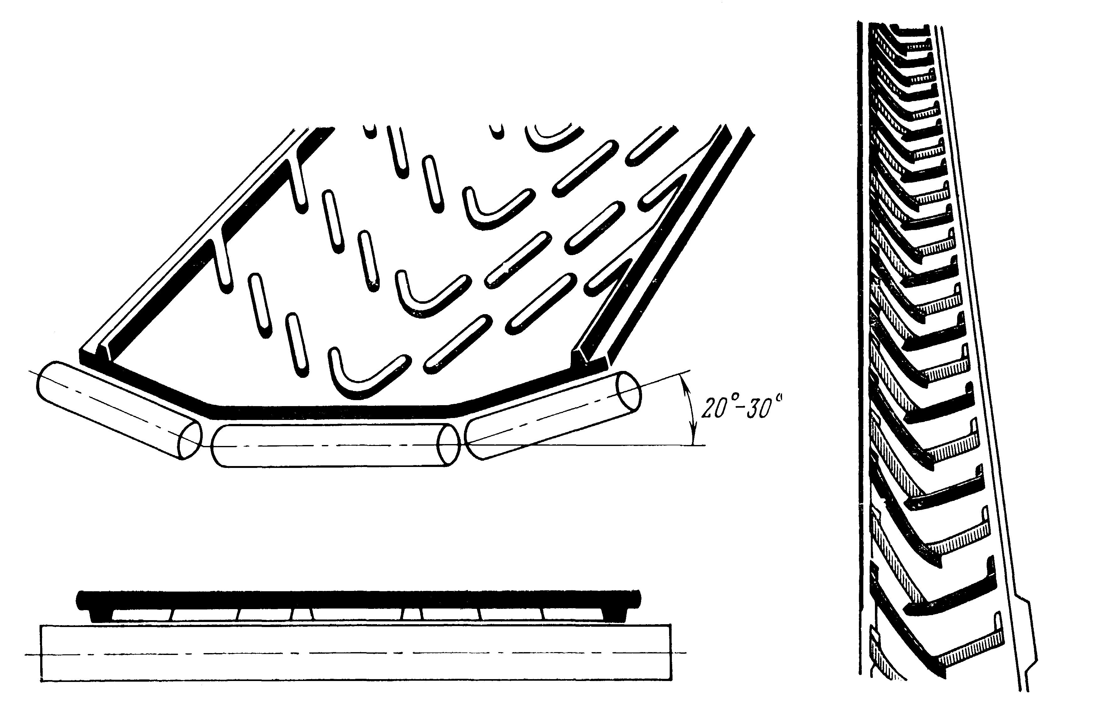 Для крутонаклонных конвейеров транспортеры посуды