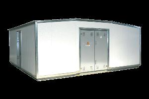 Комплектные трансформаторные подстанции Кроме того изготовляются блочные трансформаторные подстанции наружной установки мощностью от 2х100 до 2х1600 кВА на напряжение 10 6 кВ