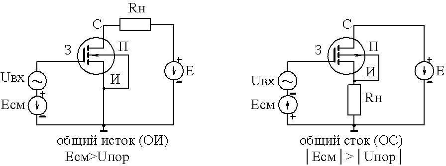 Схемы моп транзисторов
