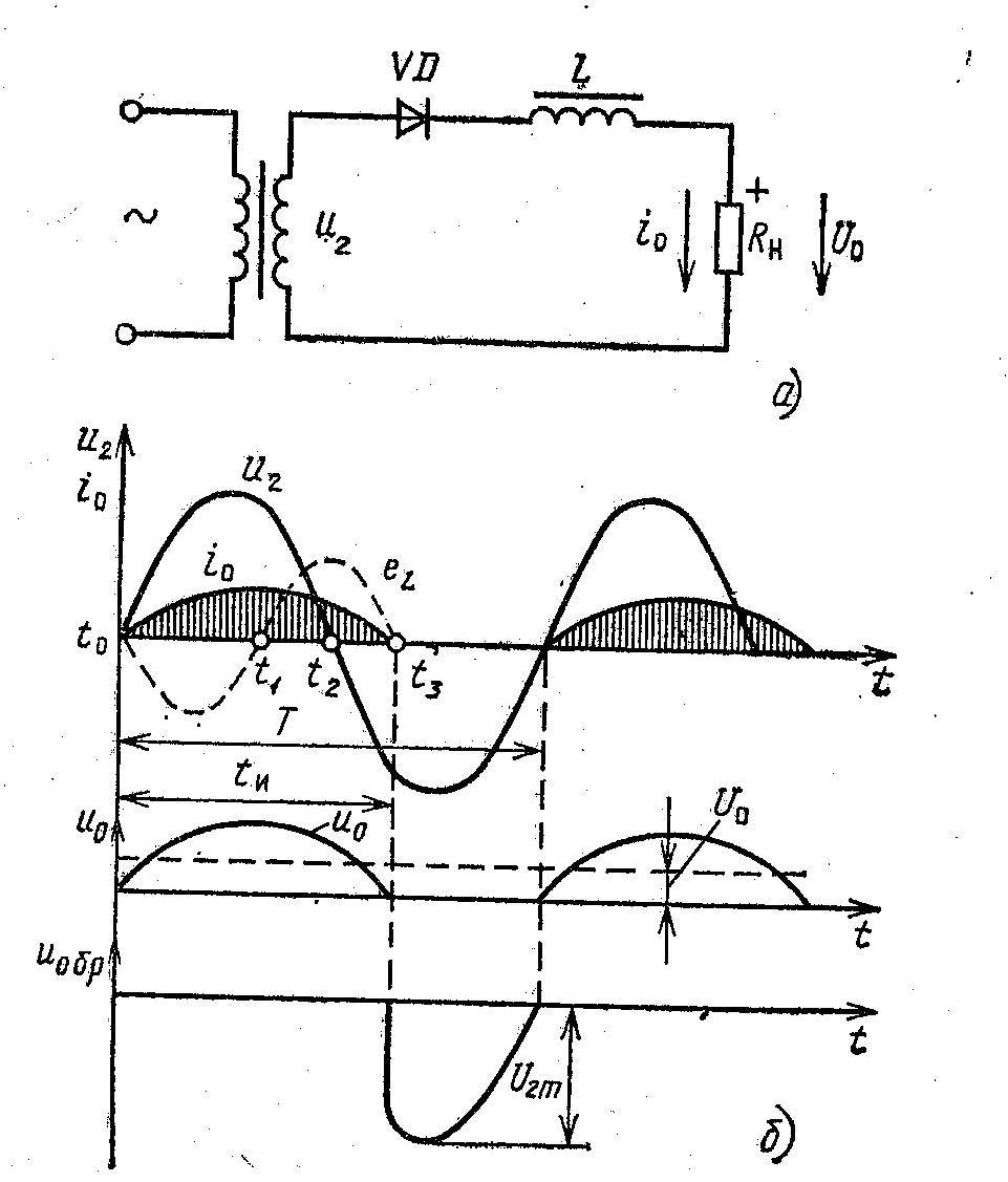 Однофазная двухполупериодная схема выпрямления фото 732