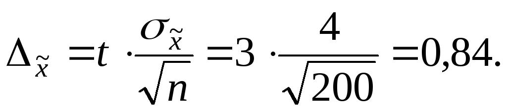 Предельная ошибка выборки решение задач решение на примере дерева задач