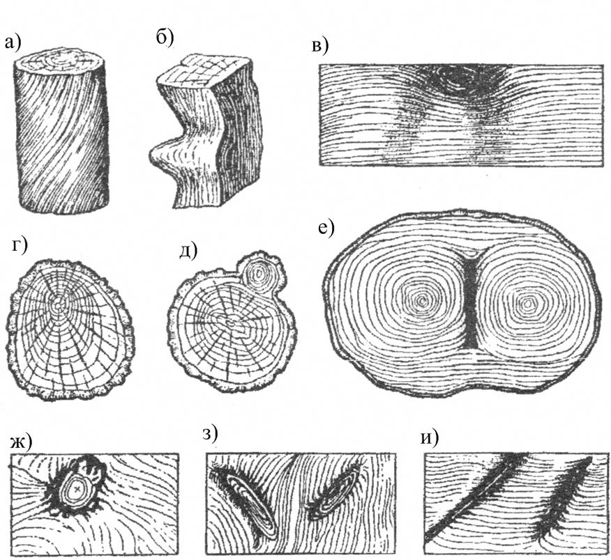 пороки древесины картинки