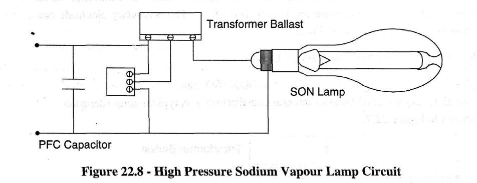 High Pressure Sodium Light Wiring Diagram - Residential Electrical ...
