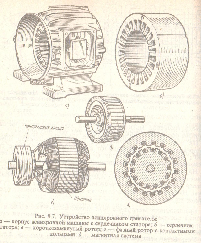 Двигатель адчр схема подключения