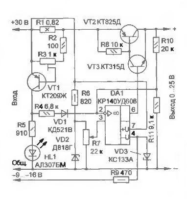 Схемы електрическая принципиальная