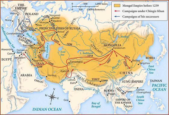 Образование монгольской державы реферат 1453