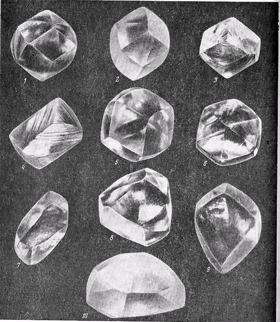 Картинки типов кристаллов