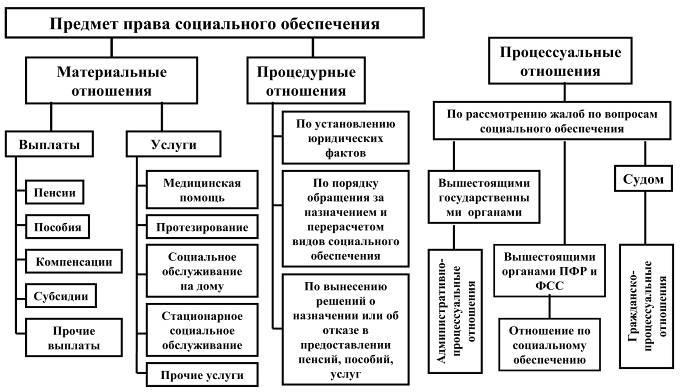 Глава Предмет метод система права социального обеспечения  разработки и принятия особой группы правовых норм система которых образует самостоятельную отрасль российского права право социального обеспечения