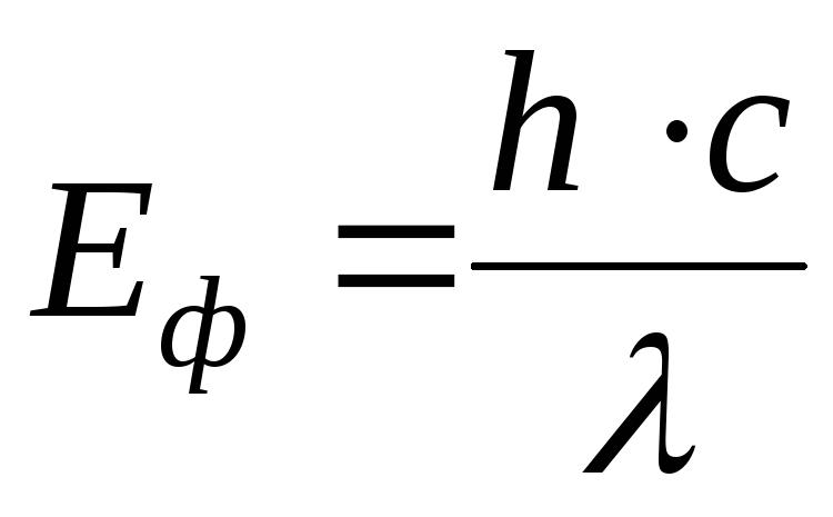 Как узнать энергию фотона