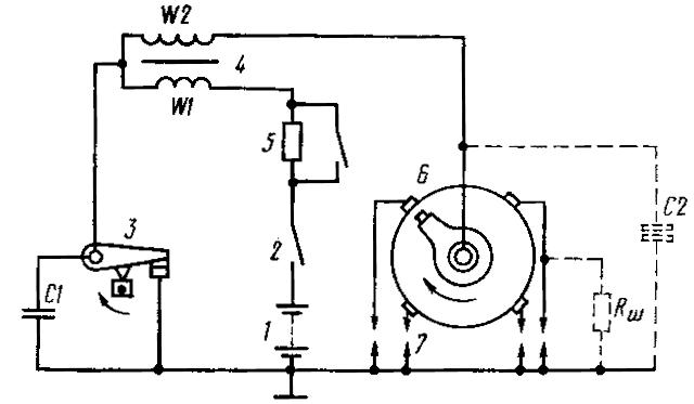 img qcA4RT - Устройство контактной системы зажигания