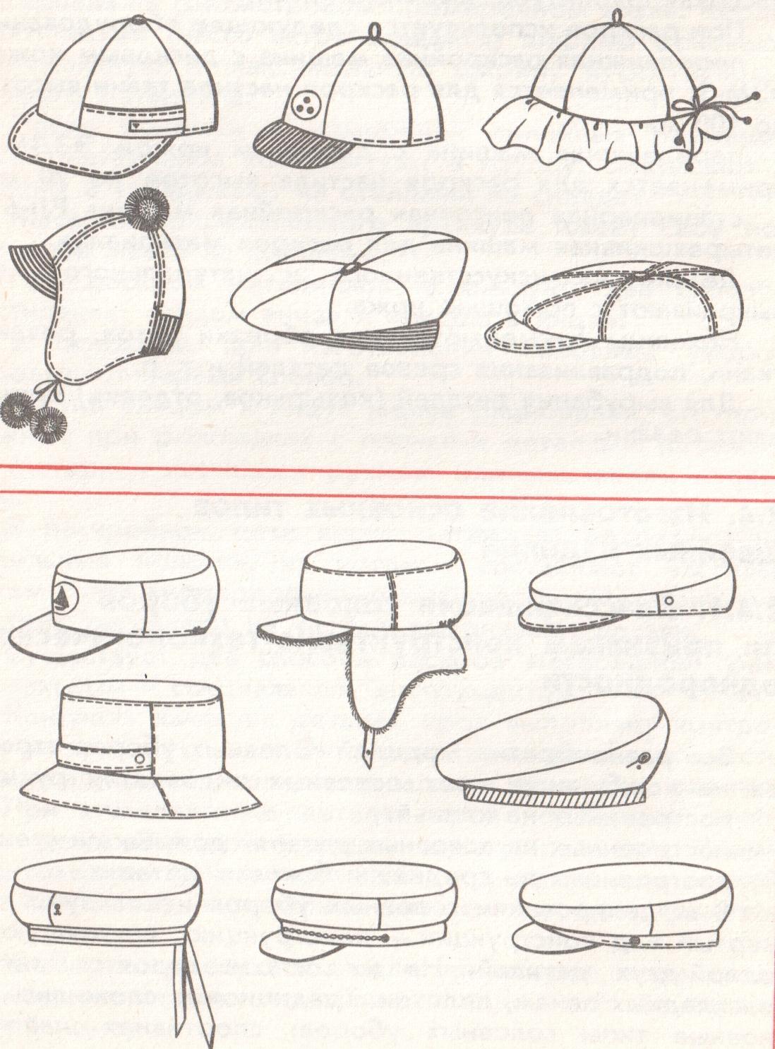 шапки в картинках поэтапно сборочный узел, отмеченный