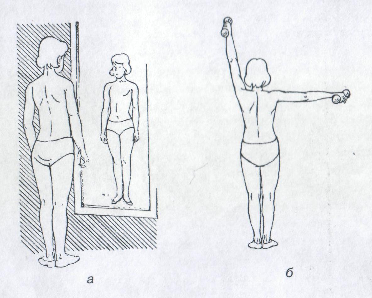 Упражнения для спины от сколиоза в картинках
