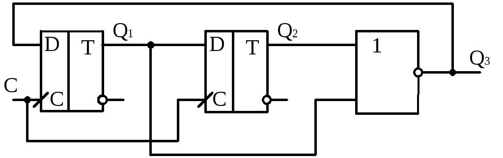Алгоритм 4-х фазного 16-ти шагового блочного контроллера