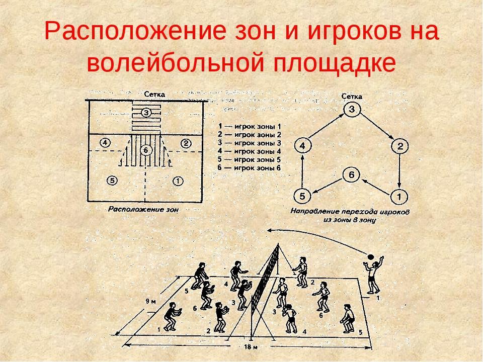 схема перехода игроков в волейболе в картинках игр
