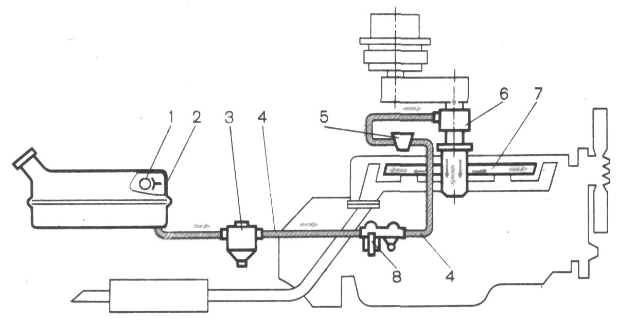 Система питания бензинового двигателя курсовая работа 468