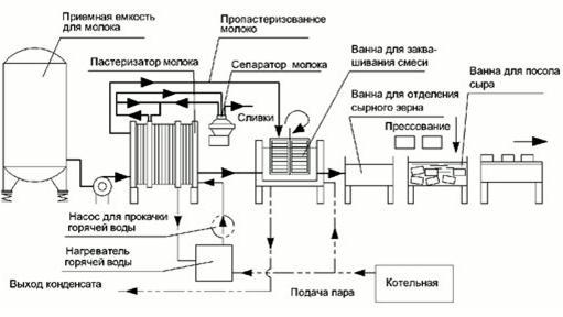 Дипломная работа технология производства сыра 5849