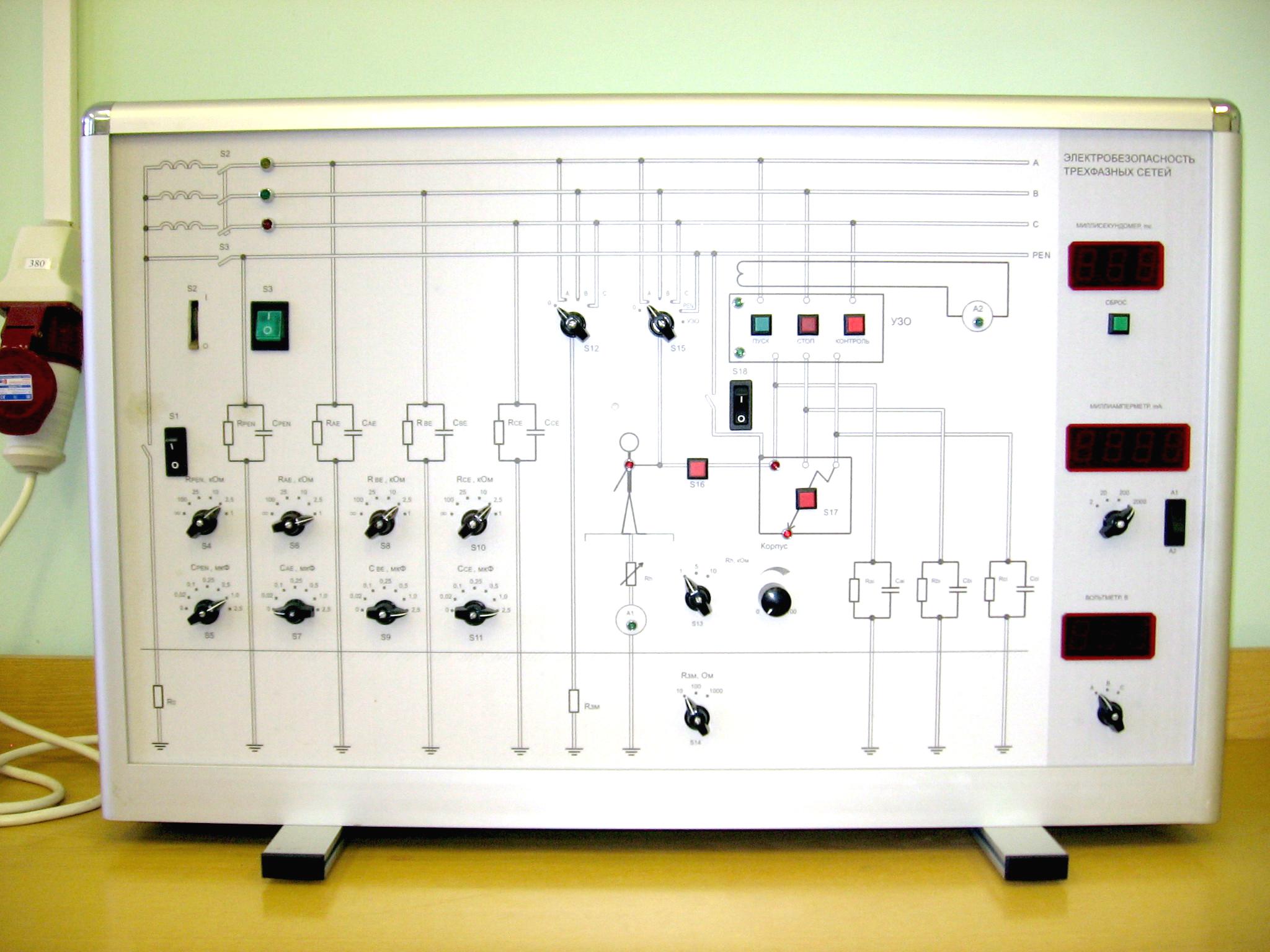 Лабораторные стенды своими руками 19