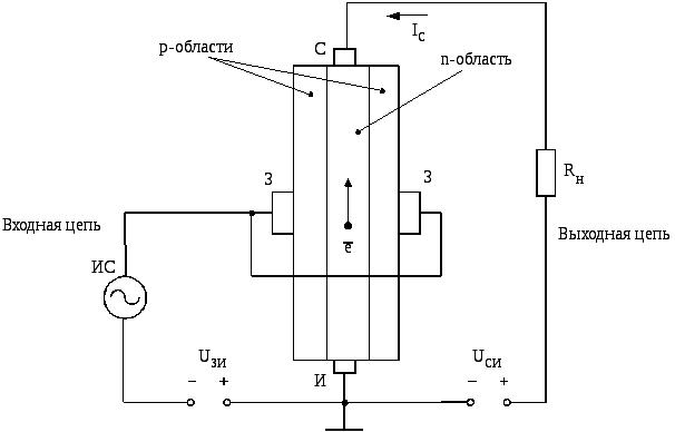 Полевой транзистор в цепи схема 110