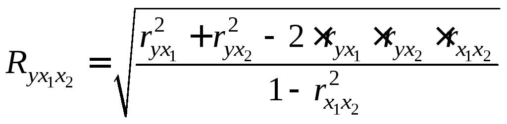 корреляция формула