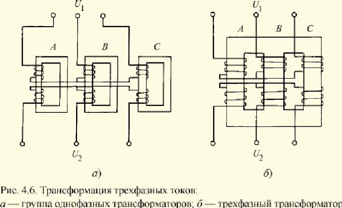 Трансформатор трехфазный своими руками 4