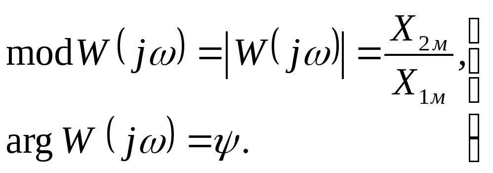 комплексная чатотная передаточная функция