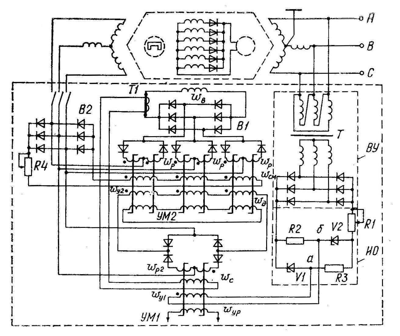 Регулятор напряжения генератора схема фото 477