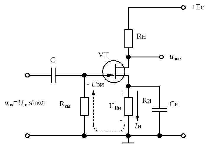 Схема однокаскадного усилителя транзистора фото 535