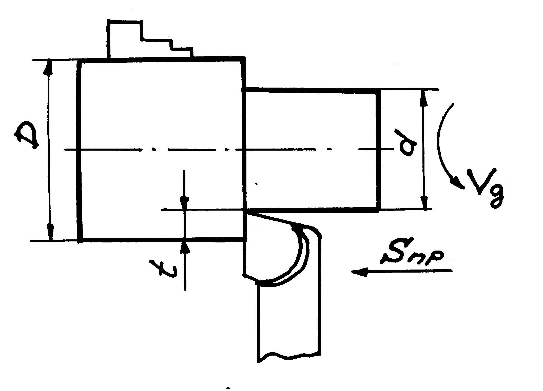 Описание проходного упорный конструкция