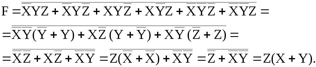 Минимизация Логических Функций Картам Карно