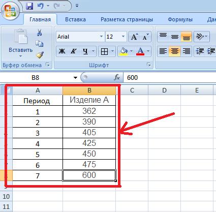 Методические указания по выполнения расчетной части курсовой работы 1 Создаем в excel таблицу с исходными данными рис 1
