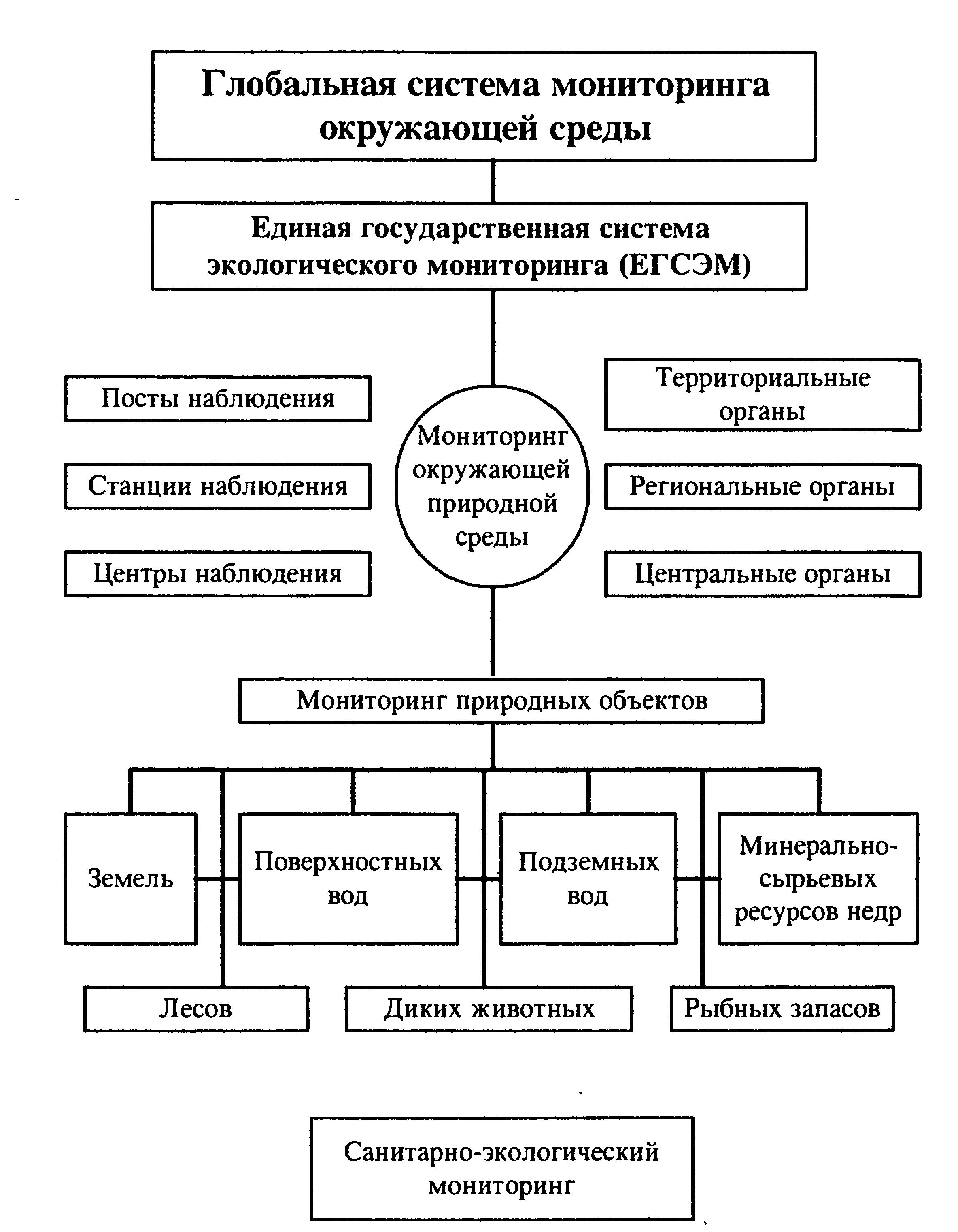 Единая государственная система экологического мониторинга реферат 5079