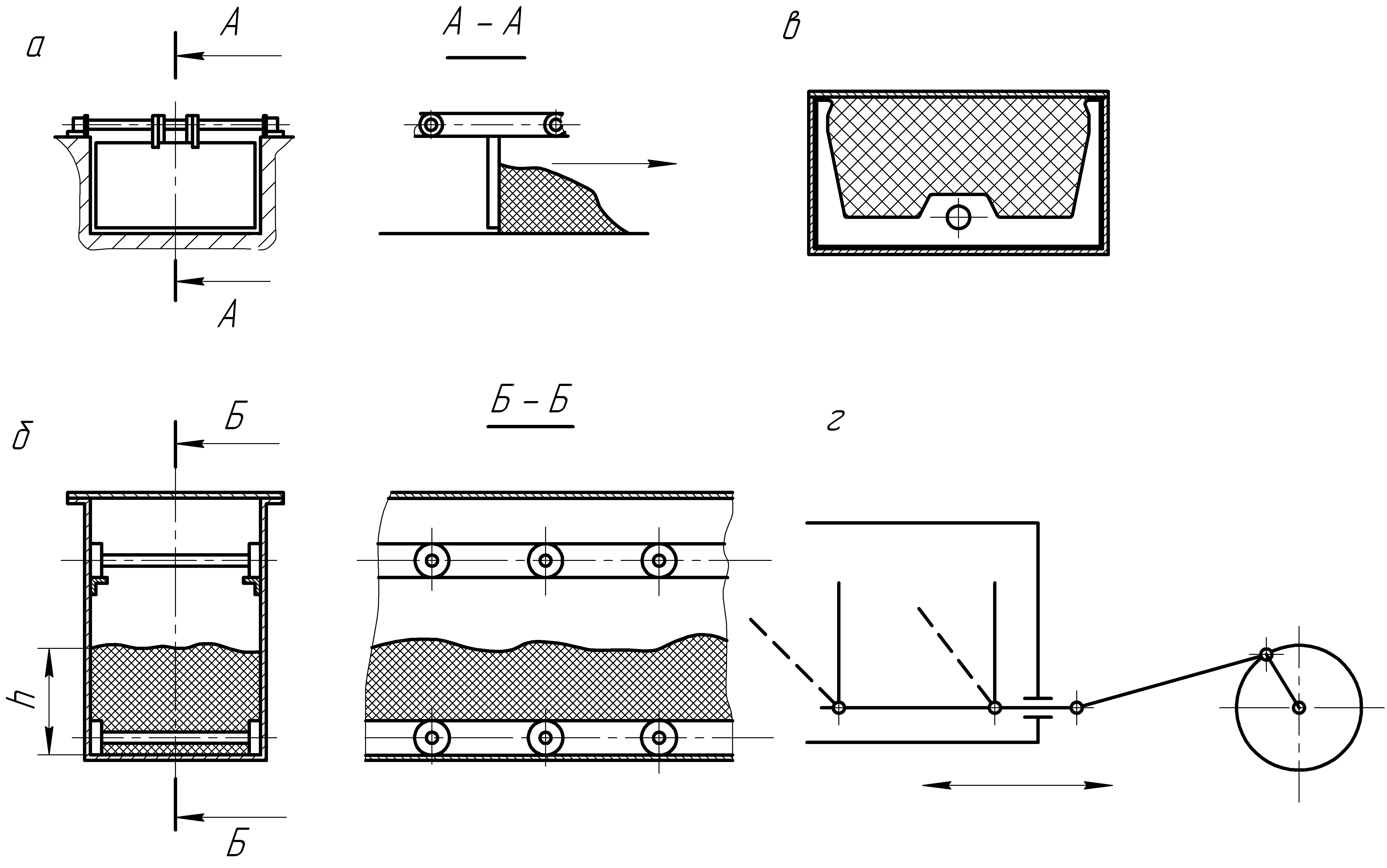 Проталкивающие конвейеры это ленточные транспортеры чертежи