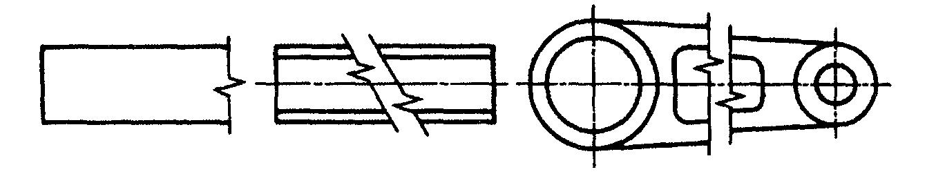 Разрыв на чертежах и схемах