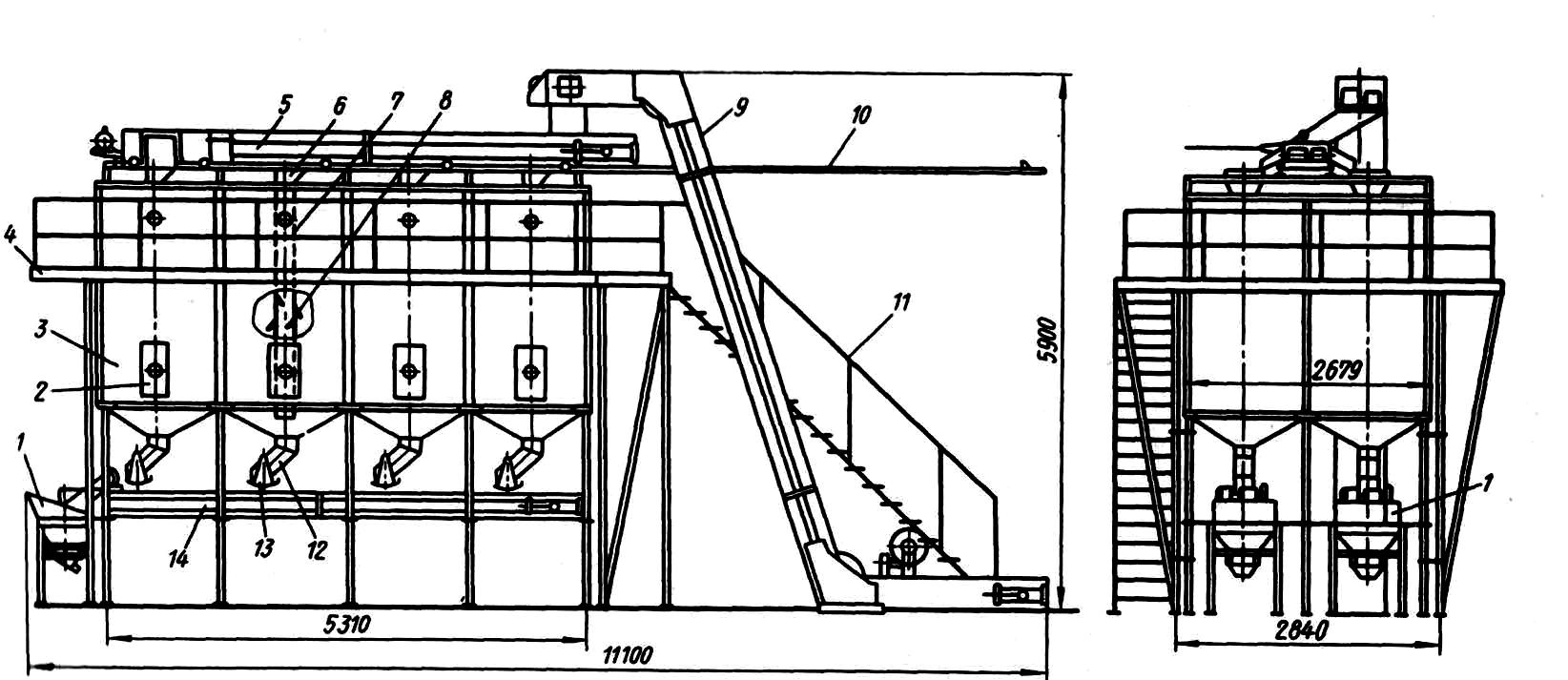 Площадка обслуживания для конвейера завод конвейерного оборудования окзо ост инн